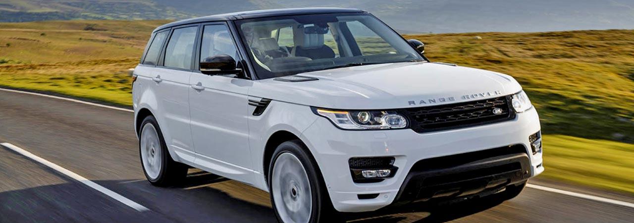 White Range Rover Vogue Chauffeur Hire