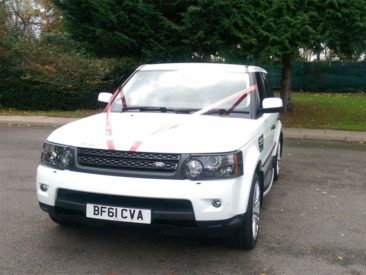 Hire One of our Chauffeur Driven Range Rover Sport